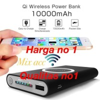 WIRELESS POWERBANK CHARGER 10000MAH POWER BANK IPHONE X S7 S8 S9 NOTE8
