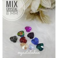 Mix kristal love 10mm