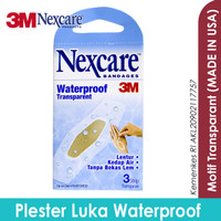 3M Nexcare Bandages Waterproof Plester Luka Waterproof W-30
