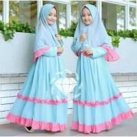 Baju Gamis Anak Syari Balotelli Asya Kids Dress Muslim Terbaru MURAH