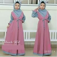 Baju Gamis Anak Syari Balotelli Renata Kids Dress Muslim Terbaru MURAH