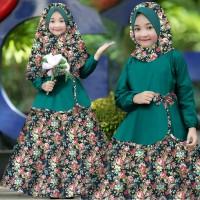 Baju Gamis Anak Syari Balotelli Ayesha Kids Dress Muslim Terbaru MURAH