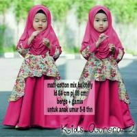 Baju Gamis Anak Syari Balotelli Aurora Kids Muslim Terbaru MURAH