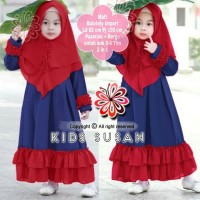 Baju Gamis Anak Syari Balotelli Susan Kids Muslim Terbaru MURAH