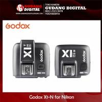 Paket Godox X1-N for Nikon (Trigger dan Receiver)