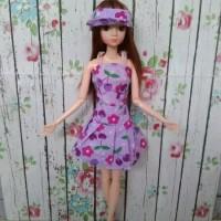 Boneka Barbie Pivotal Cute Dress Import