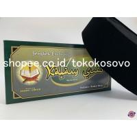 Peci / Songkok Kopiah Hitam Polos / Kalam Suci AC Tinggi 9,10 Termurah