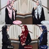 Hijab Instan Kimmy Zahwa / Tammia Daun - Hitam