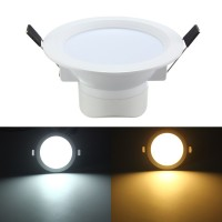 Top Brand 5W LED Flush Mount Recessed Ceiling Panel Down Light AC