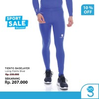 Tiento Celana Legging Pria Leging Sport Long Pants Men Blue Original