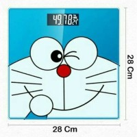 Timbangan Berat Badan Digital Doraemon LCD
