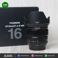 SECONDHAND - Fujifilm Xf 16mm F1.4R WR - Gudang Kamera Malang
