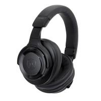Audio Technica ATH-WS990BT Solid Bass Over-Ear Headphones - Black