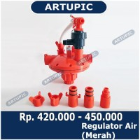 Regulator Air Penurun Tekanan Air Nipple REGULATOR MERAH