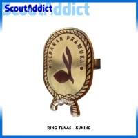 Ring Pramuka Logo Tunas Coklat