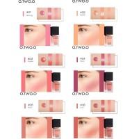 O.TWO.O Blush On Kosmetik Makeup Cair Tahan Lama