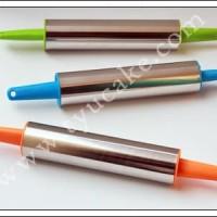 Rollpin Stainless Plastik 22cm Warna