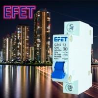 MCB Domae EFET 1 Phase (6A 10A 16A 20A 25A 32A)