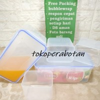 Wadah Makanan Kipit TTR 40 (Sekat / Lunch Box / Sealware / Kotak makan