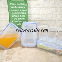 Wadah Makanan Kipit TTR 30 (Sekat / Lunch Box / Sealware / Kotak makan