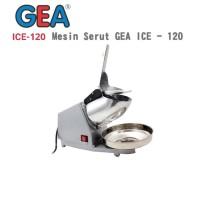 GEA ICE-120 ICE MESIN SERUT ES