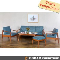 Oscar Furniture - Sofa Set Turin - Kursi Tamu