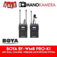 Boya BY-WM8 Pro-K1 UHF Dual-Channel Wireless Microphone System 1-TX