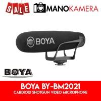 Boya BY-BM2021 Cardioid Shotgun Video Microphone BM2021 Original