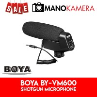 Boya BY-VM600 Shotgun Microphone VM600 For Camera Original