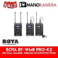 Boya BY-WM8 Pro-K2 UHF Dual-Channel Wireless Microphone System 2-TX