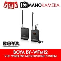 Boya BY-WFM12 VHF Wireless Microphone System Clip-On Original