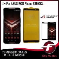 Tempered Glass Full Cover LEM Layar Screen Guard Protec Asus ROG Phone
