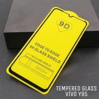 Vivo Y95 Tempered Glass Full Cover LEM Layar Screen Guard Anti Gores