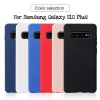 Samsung Galaxy S10 Plus Softcase Macaron Silikon Case Cover Casing NEW