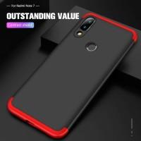 Xiaomi Redmi Note 7 360 Depan Belakang Hardcase Back Case Cover Casing