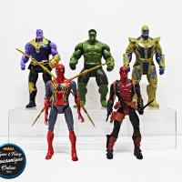 Action Figure Marvel Avengers Set isi 5