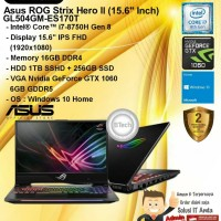 ASUS ROG Strix Hero II GL504GM-ES170T Core i7-8750H/16GB/1TB+256GB W10