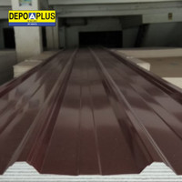 Spandeck/spandek warna merah carita Spyro 0,3 mm atap galvalum kanopi
