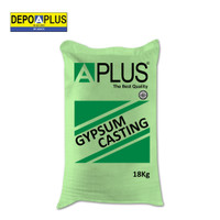 plaster casting Aplus 18kg /semen gypsum tepung gipsum