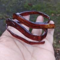 Gelang akar bahar merah kristal 55