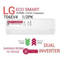 AC LG T06EV3 R32 1/2PK INVETER BARU GARANSI RESMI
