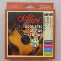 String Guitar Acoustic Alice Aw436