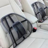 Backrest Penyangga Sandaran Punggung Mobil Lumbar Pijat Mesh Brace M16