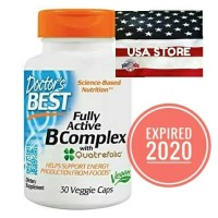 DOCTOR B COMPLEX 30 Veggie Caps Fully Actives Doctor's Best 30caps