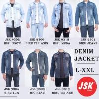 Jaket Jeans Pria Big Size High Quality JSK Jeans