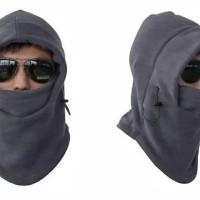 Baff Masker Balaclava Bandana Kupluk Topi Helm Polar 6 In 1 Full Fac
