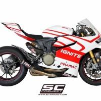 Knalpot SC Project Ducati Panigale 1199 1199R 1199S CRT Carbon