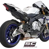 SC Project CRT Titanium Yamaha R1 Yamaha R1M R1S CRT YZF-R1 YZF-R1M