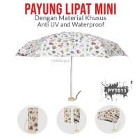 Payung Lipat PYT011 Beruang Mini Premium Anti UV dan Waterproof