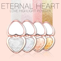 O TWO O 4 Color Heart Glow Highlighter Original